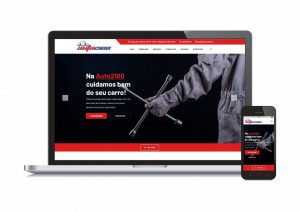 Webdesign oficina automovel auto2100